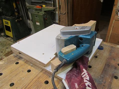 belt sander stationary table  woodbridge
