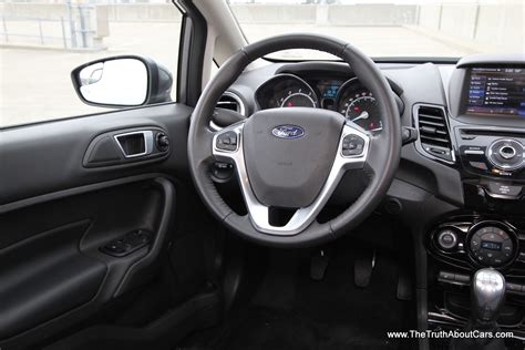 hatchback cars interior 2014 ford fiesta hatchback interior 004 the truth about cars