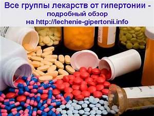 Лекарства от гипертонии после инфаркта