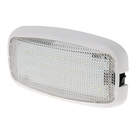 led dome lights 6 quot rectangular led dome light fixture w built in switch