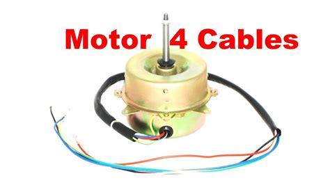 motor de 4 cables 1 velocidad ventilador como se conecta youtube
