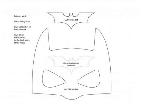 batman mask template a thousand phases make your own batman mask