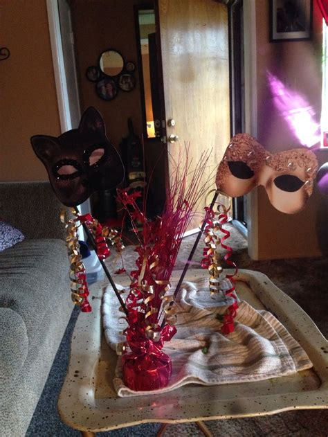 Masquerade Table Decorations Bloggerluvcom