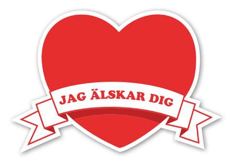 Monogram Mirror by Hj 228 Rta Med Jag 228 Lskar Dig Stickerapp
