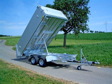 pkw anhänger gebraucht kipper pkw kipper 187 sproll anh 228 nger fahrzeuge bau technik zentrum