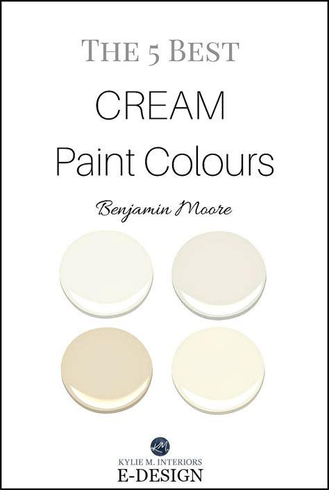 the best cream paint colours benjamin moore paint