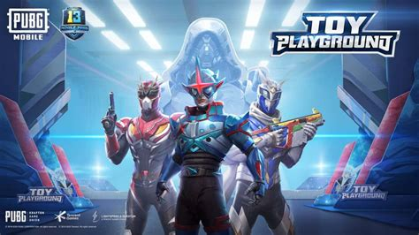 pubg mobile enters  toy playground  royale pass