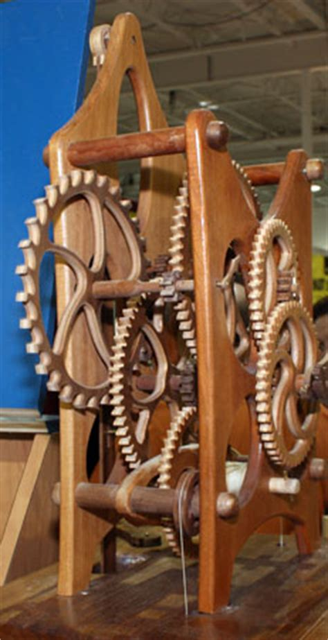 woodwork clock kits wood  plans