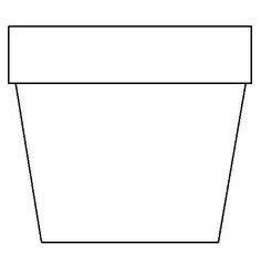 flower pot template free flower pot template free word papercraft memories printables