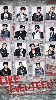 Seventeen unveil concert poster for 'LIKE SEVENTEEN 3 ...