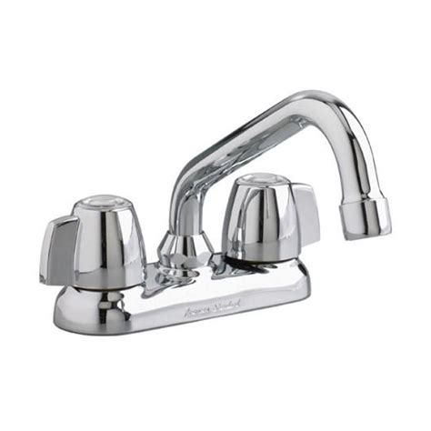 standard cadet kitchen faucet standard cadet 4 in knob style 2 handle laundry