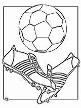 Soccer Coloring Pages Ball Player Boys Printable Players Recommended Foot sketch template