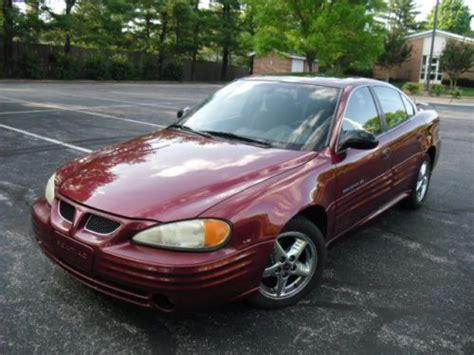 old car manuals online 2002 pontiac grand am head up display buy used 2002 pontiac grand am se1 auto cd roof great car no reserve in beltsville maryland