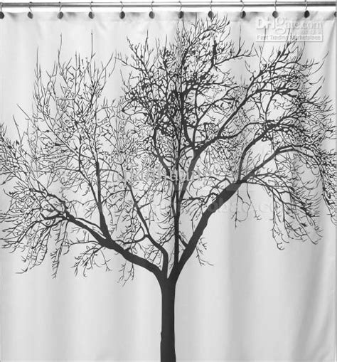 tree branch shower curtain my home