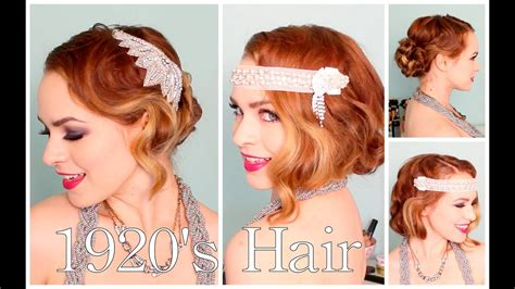 1920's Faux Bob, And Updo Tutorial!!