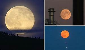 Strawberry Moon 2018 In Pictures  June U0026 39 S Full Moon Shines