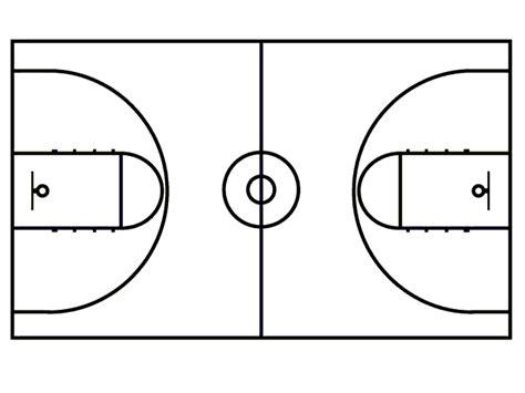 basketball court template winnetka bullets basketball playbook