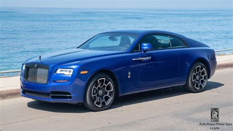 rolls royce wraith black badge la jolla ca