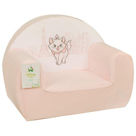 marie fauteuil rose de disney baby fauteuils aubert