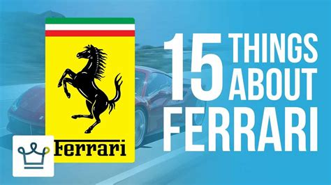 15 things you didn 39 t know about ferrari funnycat tv