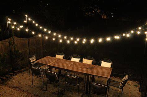 outdoor patio string lights 30 ways to create a romantic ambiance with string lights