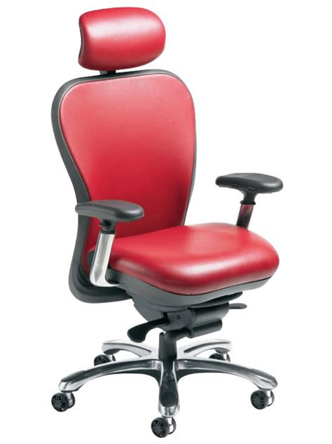 nightingale cxo leather ergonomic chair