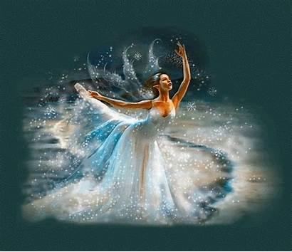 Ballerina Fairy Daydreaming Fairies Painting Background Hadas