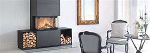 Contura Ri50 Freestanding Wood Fireplace - Regency Fireplace