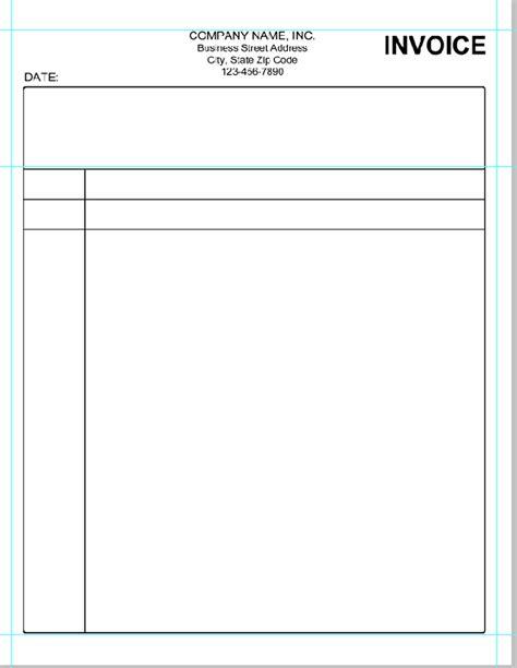 Simple Invoice Template Simple Invoice Template Pdf Invoice Exle