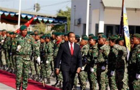 Aderito Hugo Kaer Metin Disiplina Timor Agora