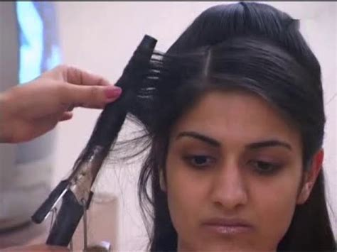 Fabulous Indian Bridal hair style   Step by Step