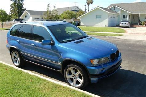 Sell Used Bmw Estoril Blue Loaded Towing