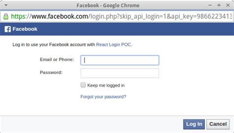 How To Use Facebook Login With React And Babel