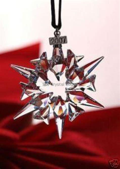 swarovski swarovski 2007 christmas ornament 872200