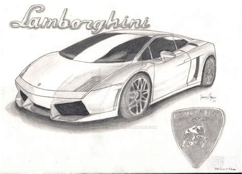 Lamborghini Sketch 2 By Dracosstarlight On Deviantart