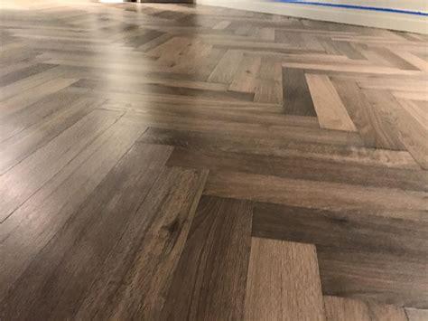 herringbone flooring wood herringbone french oak hardwood floor installation in chicago tom peter flooring hardwood