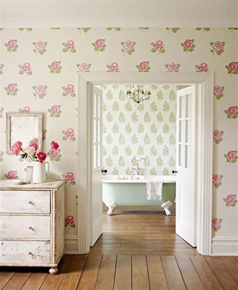 papier peint salle de bain bleu id 233 es de d 233 coration et