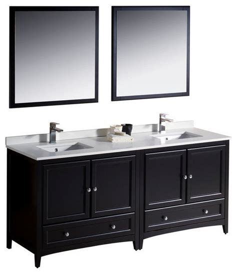 72 inch sink bathroom vanity espresso brown