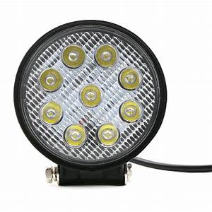 W spot flood beam working lamp led for jeep car