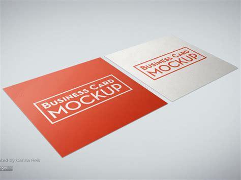 Free-square-business-card-mockup Best Free Business Card Mockup Psd Illustrator File Download Elegant Freepik Office Depot Font For Fashion Designer Your Videographer