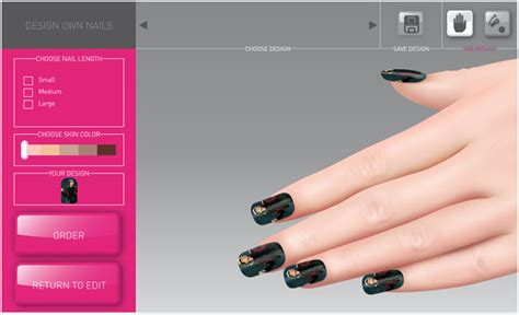 custom nail designer software  nail art designing
