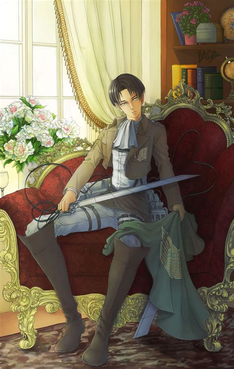 Levi ackerman is a character from the anime attack on titan. Pixiv Id 5320325 - Zerochan Anime Image Board