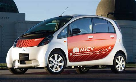 Mitsubishi Miev Lease by Mitsubishi Now Leasing I Electric For 249 Per Month