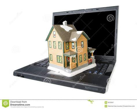 Online Real Estate Royaltyfree Stock Image