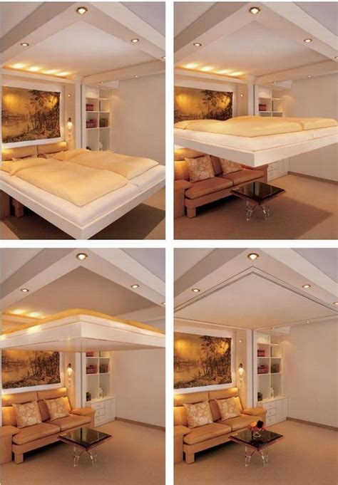 clever  space saving beds       hide