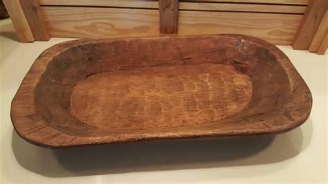 large wooden dough bowl large vintage wooden dough bowl from mexico rustic decor