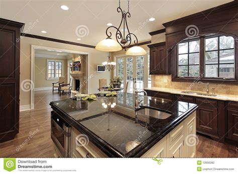 kitchen with large island 28 kitchen with large island stock photo image of dining