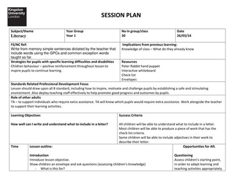 year 1 2 letter writing planning by acrosbie teaching