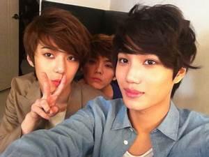 Sehun, Kai, Luhan – W Live   wowkpop