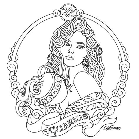 images  adult colouringzodiac signs